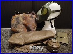 Dräger M2000 MODERN GAS MASK RESPIRATOR SIZE M BUNDESWEHR KIT, NATO, 40MM GERMAN