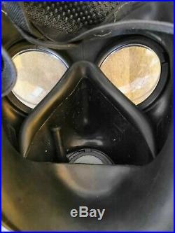Dutch FM-12 Gas Mask Respirator Size 2 kit + filter