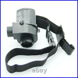 Electric Supplied Air Fed Full Face Gas Mask Constant Flow Respirator Syste