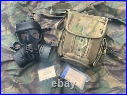 Ex mod original British army gsr General Service Respirator rubber gas mask new