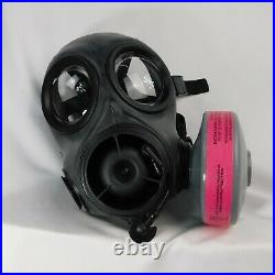 FM12 Respirator AVON NBC Gas Mask SIZE 3 FREE SHIP US SELLER
