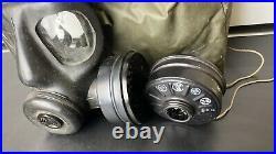 Falklands Gas Mask S6 Respirator + Filter + Haversack Bag