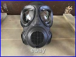Forsheda A4 F2 NEW! Gas Mask Respirator Nbc Cbrn Butyl Rubber 40mm Nato Abek P3
