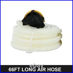 Full Face Gas Mask 110-240V Constant Flow Supplied Air Fed Respirator System US