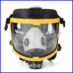 Full Face Gas Mask Electric Constant Flow Respirator Supplied Air Fed Facepiece