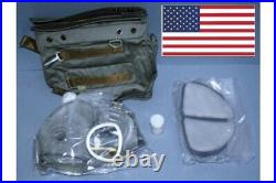 Full Face Gas Mask Respirator Military Polish MP4 with Filters and Free Bag