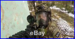 Full Face Respirator Mask. Gas mask panoramic Breeze-4301M. Full Set. Russia