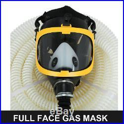 Full Face fresh Air Fed Gas Respirator Mask for Breathing System 110-240V