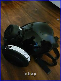 Fully Decked Out Authentic Large MSA Millennium CBRN 40mm Gas Mask Respirator