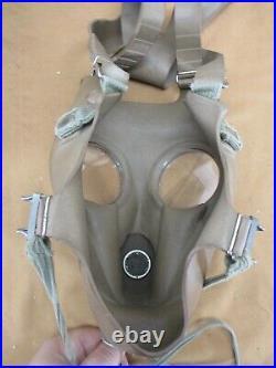 GAS MASK M51 Belgian Military Army Respirator NATO Filter Vintage Transport Bag