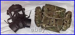 GSR Gas Mask British Army General Service Respirator New With Haversack