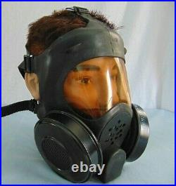 Gas Mask Full Face Federal Laboratories PPE Vintage Hood Military Bag Field Gear