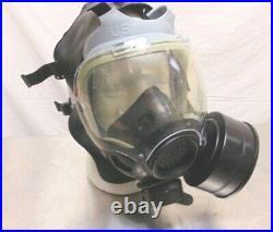 Gas Mask Respirator Military Fire Police Swat MSA 5073 Adjustable Size