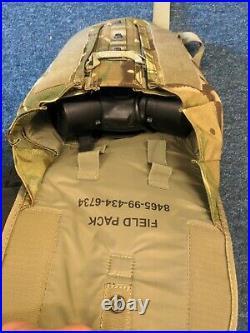 Genuine British Army GSR Gas Mask Respirator Size 2 + Havisack