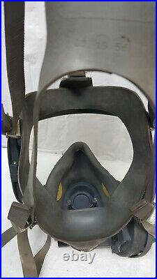 INTERSPIRO REVITOX RESCUE FULL MASK & HOSE For GAS FIRE SAFETY Rescue