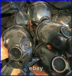 LOT of 10 MSA Millennium CBRN Full Face Respirator Gas Mask Complete Kits READ