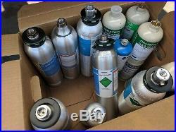 M1039 HAZMAT Detector Toxic Gas Mask Check Calibration Cylinders MSA SCBA O2 EMS
