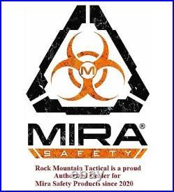 MIRA Safety CM-6M Tactical Gas Mask CBRN RIOT Defense Full Face Respirator