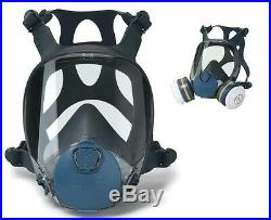 MOLDEX 9000 Series Full Face Respirator / Dust & Gas Mask 9001 9002 9003