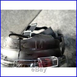 MSA 10051287 Millennium Riot Control Full Face Gas Mask, Medium, Clear