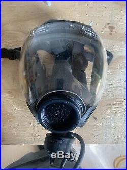 MSA 40mm Millennium CBRN Gas Mask Respirator SIZE LARGE