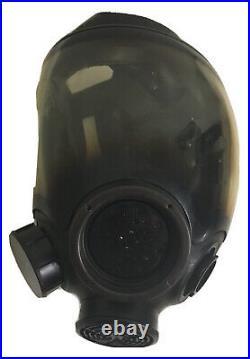 MSA 7-1293-1 Medium Full Face Gas Mask Respirator Government Surplus Fire Riot
