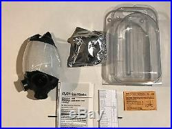 MSA 813859 Full Facepiece Respirator Advantage 1000 Control Gas Mask Size M