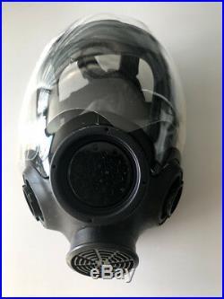 MSA Advantage 1000 ChemBio Agent Gas Mask / Respirator 813859