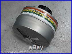 MSA Advantage 1000 Gas Mask Kit with40mm Adapter & CBRN Filter LG #813861 Exp 2022