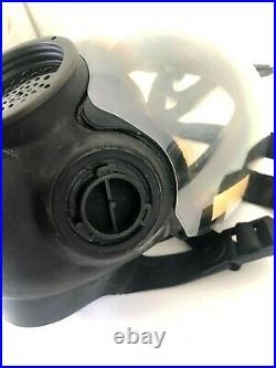 MSA Advantage 1000 Riot Control Full Face Respirator Gas Mask Large Millennium 2