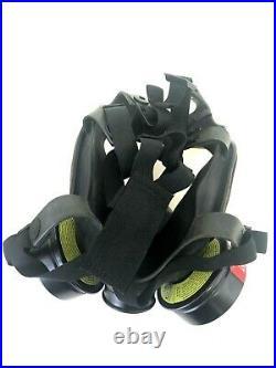 MSA Advantage 1000 Riot Control Full Face Respirator Gas Mask Small Millennium