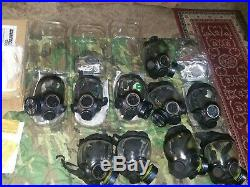 MSA Advantage 1000 Riot Control Respirator Gas Mask and filter, Swat, Emergency