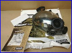 MSA Advantage 1000 gas mask full face respirator Large