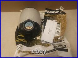 MSA Advantage 1000 gas mask full face respirator Medium