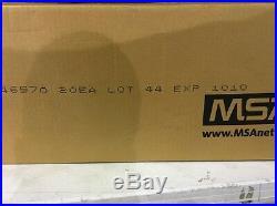 MSA CBRN Cap1, Millennium Gas Mask Filters, 20 filter case exp date10/10 NIB
