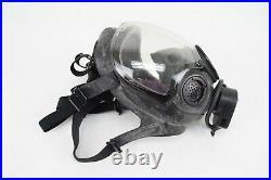 MSA CBRN Clear Lens Riot Control Gas Mask Medium Respirator with Lens