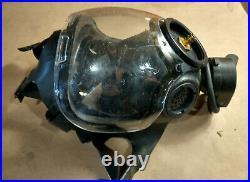 MSA CBRN Gas Mask Millennium, Fits 40mm Filter, Size SMALL Fast Shipping