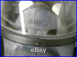 MSA Full Face Air Purifying Respirator Gas Mask Nuclear Vapor Haz Mat Sz. Small