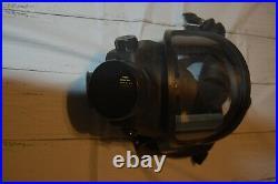 MSA Gas Mask Size Large Full Face Mask
