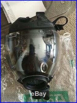 MSA Millennium APR/CBRN Respirator MCU Gas mask US Large- NEW