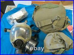MSA Millennium CBA/RCA Gas Mask with Hood Size Medium ITEM # 2020-06