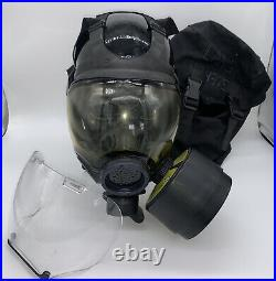 MSA Millennium CBRA 40mm Gas Mask Medium with bag 10006231 riot (A)