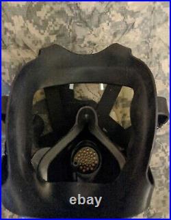 MSA Millennium CBRN 10006233 Riot Control Full Face Respirator Gas Mask Large L