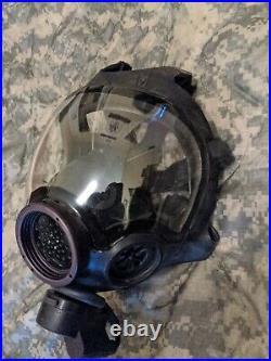 MSA Millennium CBRN 10006233 Riot Control Full Face Respirator Gas Mask Large M
