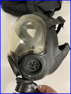 MSA Millennium CBRN 40mm Gas Mask Size LARGE Excellent