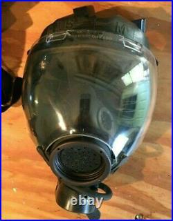 MSA Millennium CBRN Full Face Respirator Gas Mask Complete Kits Medium SEE Below