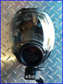 MSA Millennium CBRN Gas Mask withDrinking System New Factory Sealed Size Medium