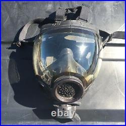 MSA Millennium Full Face Gas Mask CBRN Size Large Respirator 40mm Riot Controll