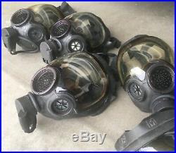 MSA Millennium Full Face Gas Mask CBRN Size Medium Respirator 40mm