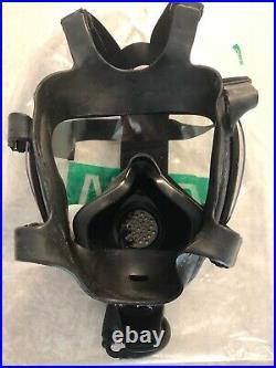 MSA Millennium Full Face Gas Mask CBRN Size Medium Respirator 40mm Riot Control